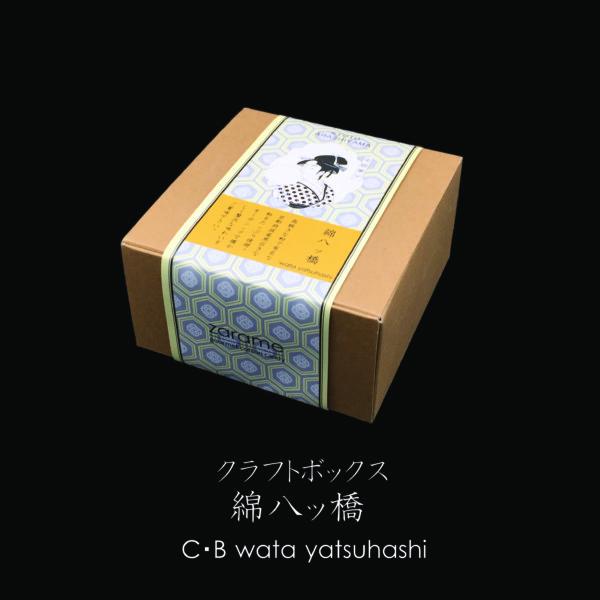 クラフトボックス 綿八ッ橋 C・B wata yatsuhashi